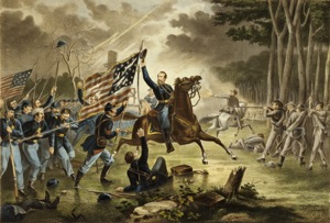 Kearny s Charge Battle of Chantilly